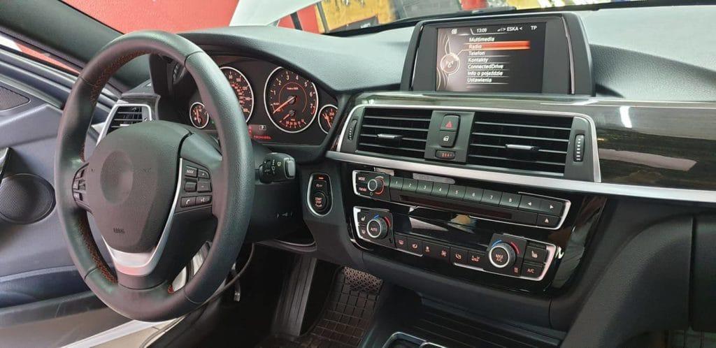 BMW f30 polskie menu nawigacja