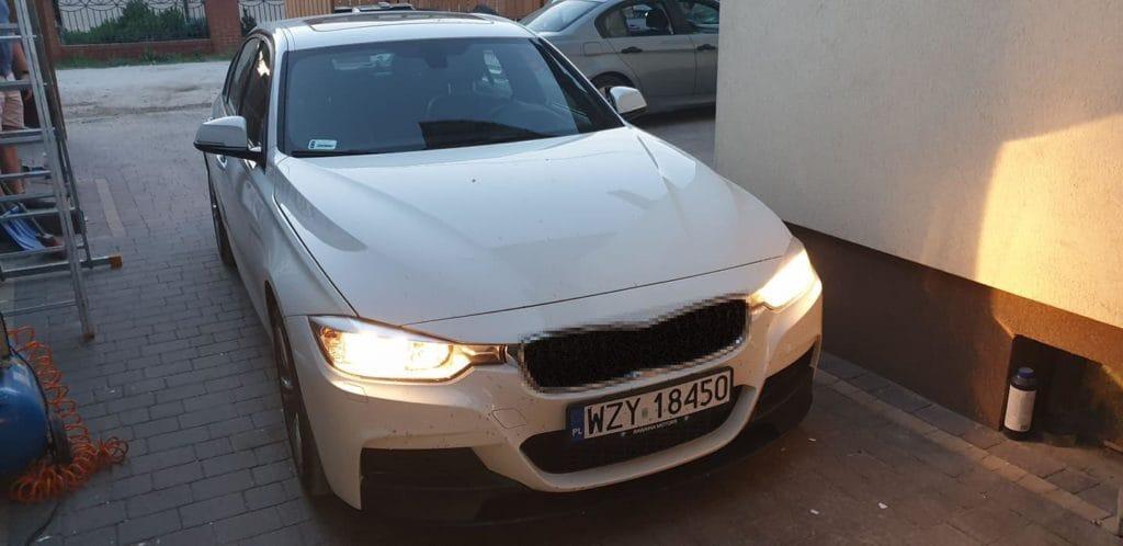 BMW x1 konwersja USA EU