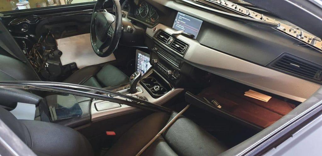 BMW interior carcoding