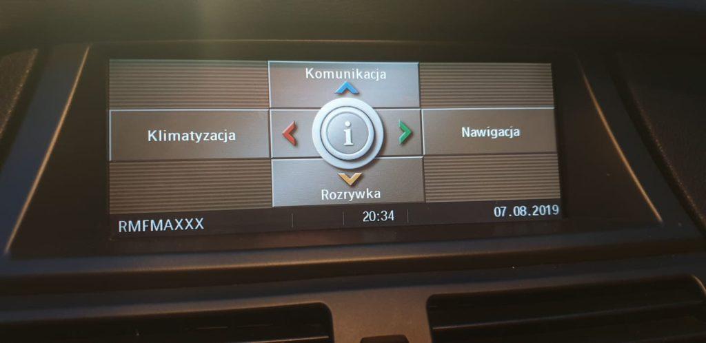 BMW pl menu