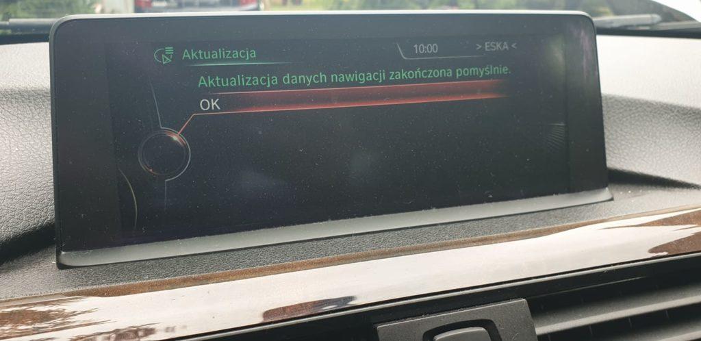 BMW f30 aktualizacja map GPS