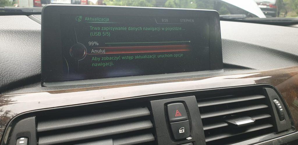 BMW aktualizacja map nawigacji