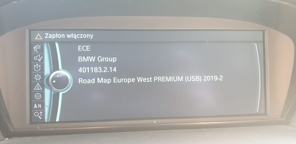 BMW konwersja z USA na EU