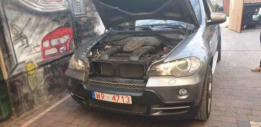 BMW x6 wymiana swiec zaplonowych