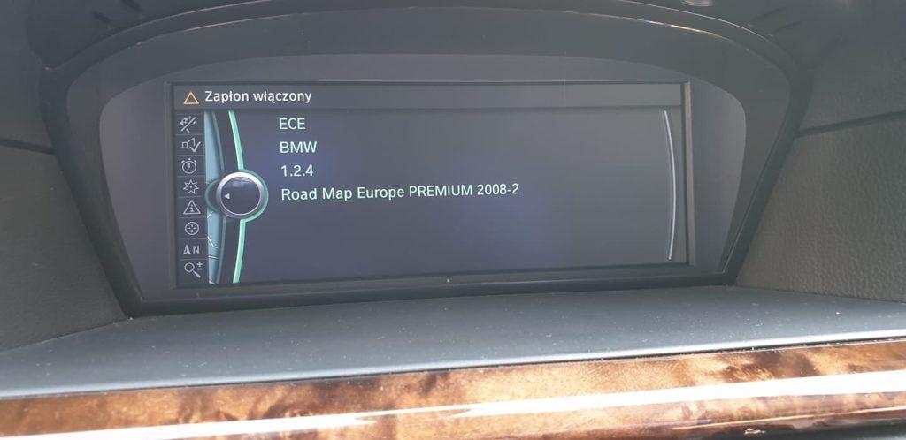 BMW cic aktualizacja map nawigacji