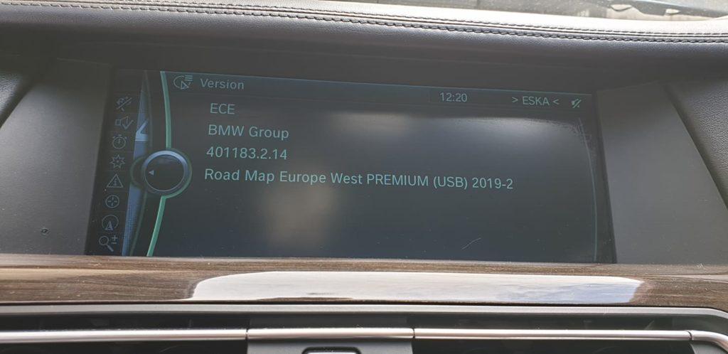 bmw e60 wgrywanie polskiego menu