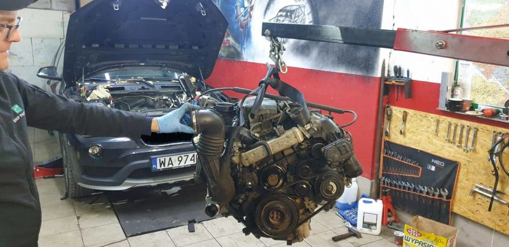 bmw x1 wymiana rozrzadu 2.0 diesel