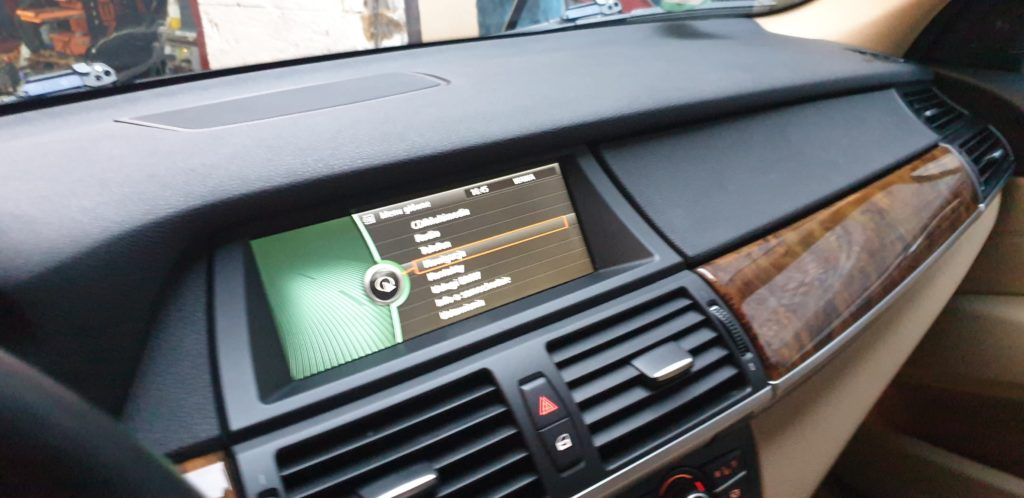 BMW X5 nawigacji GPS