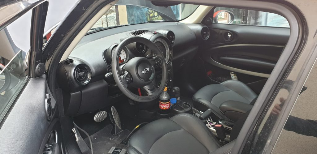 mini wnetrze interior