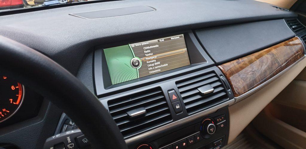 akyualziacja nawigacji GPS bmw