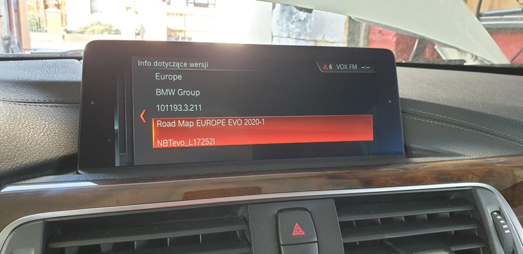 carcoding bmw road map