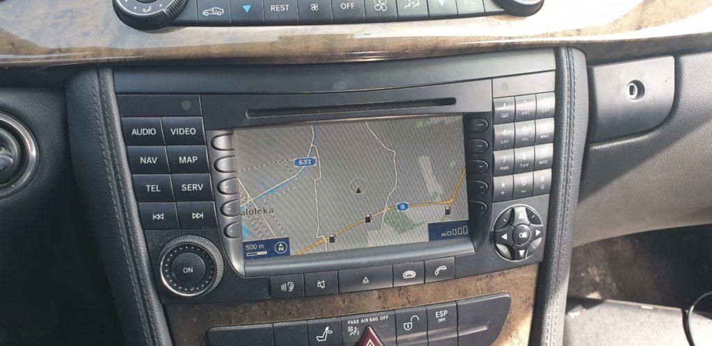 mercedes cls nawigacja GPS